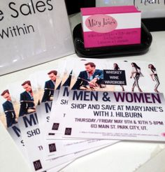 Boutique Event: Mary Janes Whiskey, Wine Wardrobe Event!