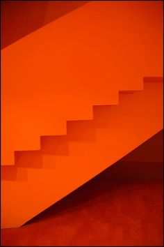 Orange Staircase | Orange staircase, interior The Lowry, Sal… | Flickr - Photo Sharing!