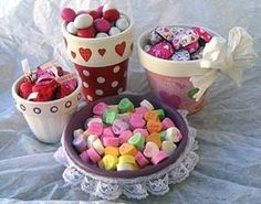 Valentine's Day Candy Pots - Parenting.com