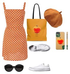 """""""Vintage picnic outfit"""" by rachael-baxtr on Polyvore featuring Faithfull, Converse, Carla Zampatti and vintage"""