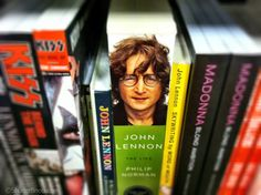 Book covers through the lens of my iPhone. #iPhoneography #photography #JohnLennon #Lennon What happens when you take your iPhone with you on a trip to Barnes & Noble? Well, nothing, technically. Especially if you're trying to access their WiFi network. But if you're into iPhoneography, the books and book covers around you become amazing works of art. So why not re-imagine them with an iPhone? See more of my iPhone photography at www.ShutterSnob.com