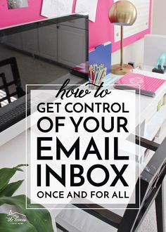 How to Get Control of Your Email Organized Mom, Getting Organized, Home Organization Hacks, Organizing Life, Paper Organization, Clutter Solutions, Family Organizer, Organize Your Life, Home Hacks