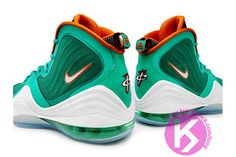 Nike Penny 5 (Miami Dolphins) #sneakers