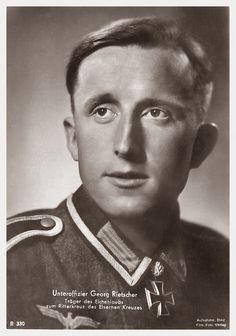 ✠ Georg Rietscher (3 December 1918 - 21 September 1991) RK 27.06.1942 Gefreiter Richtschütze i. d. 14.(Pz.Jäg)/Inf.Rgt 513 294. Infanterie – Division [210. EL] 14.03.1943 Unteroffizier [VB] i. d. 14.(Pz.Jäg)/Gren.Rgt 513 294. Infanterie – Division