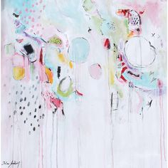 Giclee, Fine Art Print, ABSTRACT painting, creme, creme, rosa.modern... ($98) ❤ liked on Polyvore featuring home, home decor, wall art, giclee painting, giclee wall art, photo wall art and photo painting