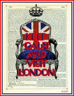 KEEP CALM AND VISIT LONDON - created by eleni