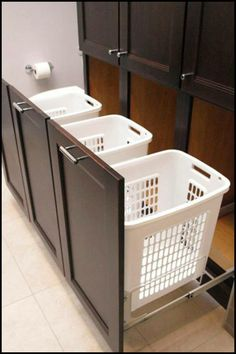 Is this the storage solution you need for your laundry room? See more ideas here!