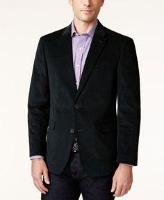 TOMMY HILFIGER Tommy Hilfiger Men's Slim-Fit Corduroy Elbow Patch Sport Coat. #tommyhilfiger #cloth # blazers