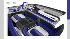 Car Interior Sketch, Interior Concept, Interior Design, Adobe Photoshop, Car Sketch, Automotive Design, Graphic Design Illustration, Fiat, Home Projects