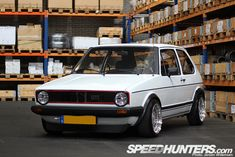 CAR FEATURE>> ULTRA CLEAN VW GOLF MKI GTI — Speedhunters