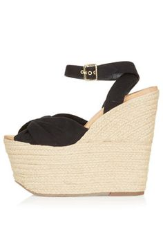 WENDY Mega Espadrille Wedges  #Shoes - On my wish list!