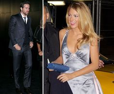 Blake Lively and her new husband, Ryan Reynolds, stepped out to celebrate Chanel's 80th anniversary of the Bijoux de Diamants fine jewelry collection in NYC Tuesday. Blake wore a backless silver dress for the occasion and accessorized with her new diamond engagement ring. She mostly kept her hands in her pockets on her way into the event, though her sparkler did make an appearance. Blake and Ryan Reynolds have been married for a month now, after tying the knot in South Carolina last month…