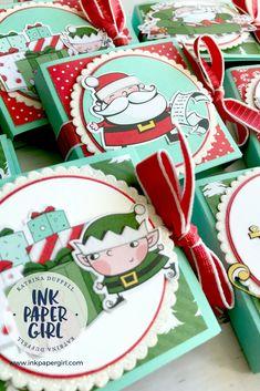 Stampin' Up! Santa's