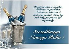 Nowy rok Happy New Year, Diy And Crafts, The Secret, Good Things, Humor, Polish, Posters, Christmas, Indian Models
