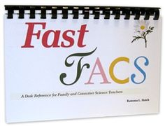 Temperatures, cooking times, conversions, substitutions and other data are an important part of the FACS teacher's daily routine. Fast FACS brings together charts, tables and hard-to-find facts from many sources into one quick, reliable desk reference. Information sections are color-coded by FACS subject area for easy use.