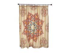 Bathroom-Gorgeous Shower curtain idea