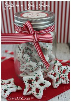via WordPress www.isavea2z.com/homemade-gifts-in-a-jar-ideas-for-christ... Please credit www.isavea2z.com if you use the photo.