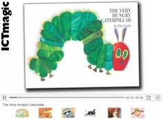 A great set of video of classic book titles, such as The Very Hungry Caterpillar and Green Ham and Eggs.