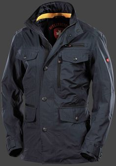 Chester - Лето - Мужские. Весна - Каталог - Wellensteyn Man Gear, Tactical Clothing, Work Jackets, What To Wear, Winter Jackets, Leather Jacket, Mens Fashion, My Style, Coat