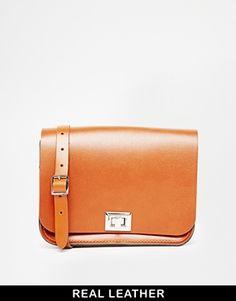 The Leather Satchel Company Tan Medium Pixie Cross Body Bag