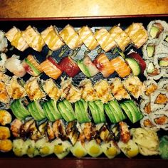 This looks great! Sushi Yoshi in Stowe,VT