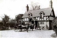 Old Cottages Church Lane Handsworth Birmingham Postcard