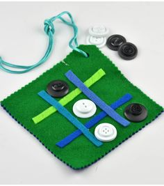 Tic-Tac-Toe Game Pouch