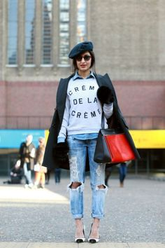Photo 8- The 30 Best Street-Style Snaps From LFW