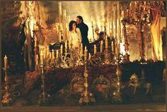 Love the bed from the Phantom of the Opera movie