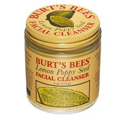I love  burts bees facial cleanser!!!