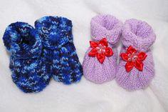 Egyszerű baba cipő kötés - képes leírás