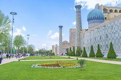 14'üncü yüzyılda Timur imparatorluğunun başkenti olan Semerkant'ta zaman adeta durmuş gibi