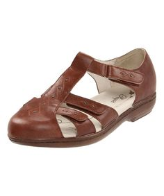 Chestnut Heather Leather Sandal