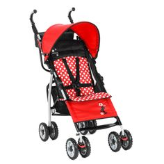 The First Years Ignite Designer Stroller - Disney Minnie Mouse Red Dot | Baby Gear www.duematernity.com