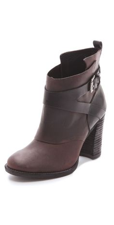 Belle by Sigerson Morrison -Hannah Nubuck Booties...in love!