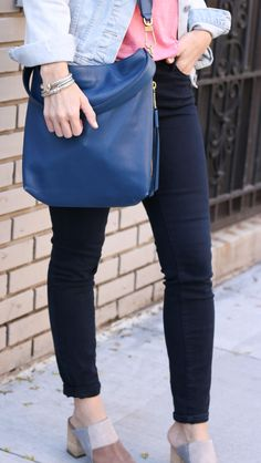 Blue Hobo Bag @cobal