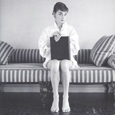 Actress Audrey Hepburn (1929-1993), date unknown.