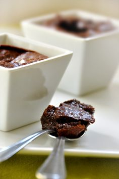Schokoladen fondant kuchen nathalie