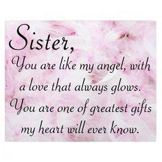 Sisters greatest love plaque | Zazzle.com