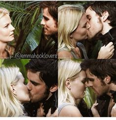 Emma kisses Hook! ♡ Can't stop pinning this scene!