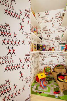 Vincent Van Duysen children's room in Belgium for Rob Hevaert and Bart Heyen, photograph by Matthieu Salvaing | Remodelista