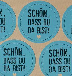 Aufkleber Hochzeit mint / wedding sticker mint