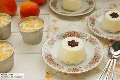 """Panacottas, mousses y tartas de """"Las mejores recetas sin horno"""" via www.directoalpaladar.com"""