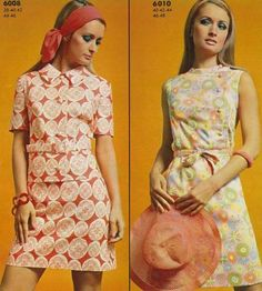 I've got the century breathing down my neck 60s And 70s Fashion, Teen Fashion, Fashion Models, Vintage Fashion, Evolution Of Fashion, Vintage Love, Vintage Style, Fashion History, High Neck Dress