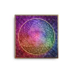 Look no further - this canvas print has a vivid, fade-resistant print that youre bound to fall in love with. Office Looks, Good Luck, Stretcher Bars, Cool Art, Mandala, Canvas Prints, Cool Stuff, Creative, Artwork
