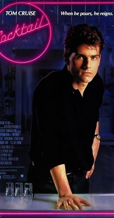 Directed by Roger Donaldson.  With Tom Cruise, Bryan Brown, Elisabeth Shue, Lisa Banes. A talented New York City bartender takes a job at a bar in Jamaica and falls in love.