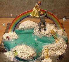 rainbow wedding