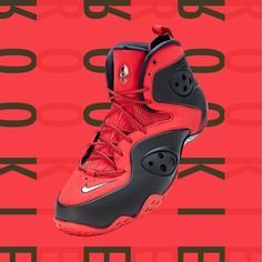 """separation shoes 6b42d 16efc Jimmy Jazz on Instagram """"The Nike Zoom Rookie is back! This Penny Hardaway  mash up in a popular black and red colorway hits the streets Fri 14  10  AM"""""""