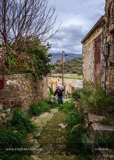 Volissos vilage, North Chios
