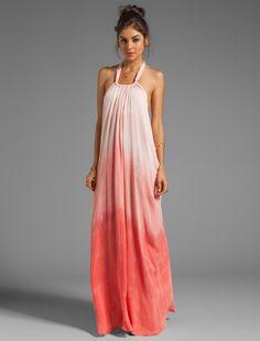 flowing long dress